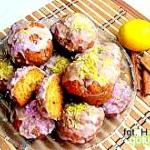 Muffinki cytrynowe z cyna...