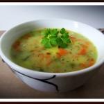 Zupa z Groszkiem...