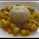 Kurczak z Curry i Ananase...