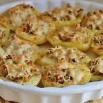 Ziemniaki faszerowane...