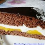 Jogurtowy tort z...