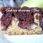 Ciasto marmurkowe z grusz...