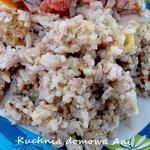 Ryż z mięsem, serem i...