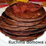 Placuszki kakaowo-serowe