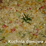 Sałatka ryżowa z...