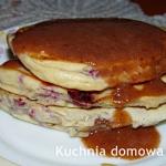 Pancakes z malinami i...