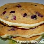 Pancakes z jagodami