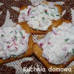 Pasta serowo-rzodkiewkowa