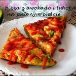 Pizza z awokado -zielona...