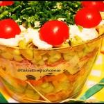 Salatka tunczyk i tortell...