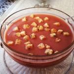 Zupa krem z fioletowych...