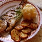 Ryba pieczona w piekarnik...