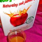 Naturalny sok jablkowy