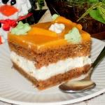 Ciasto marchewkowe z krem...