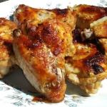 Pieczone skrzydelka z kur...