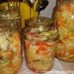 Salatka obiadowa do sloik...
