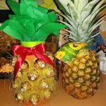 Ananas z wina i ferrero r...