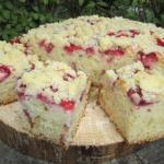 Ciasto maslankowe z trusk...