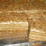 Ciasto marlenka -pyszne...