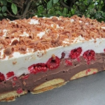 Ciasto czekoladowo-smieta...