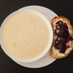 Zupa mleczna z kluskami l...