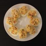 Jajka faszerowane z losos...