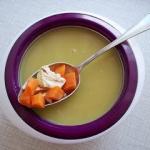 Zupa krem z groszku z...