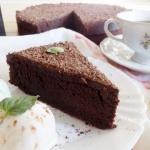 Wilgotne brownie z polewa...