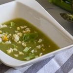 Zupa ze szparagami