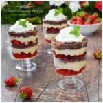 Trifle z truskawkami i...