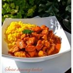 Czerwone curry z kurczaki...