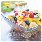 Salatka owocowa z miodem