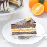 Tort makowy z pomaranczam...