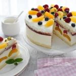 Tort jogurtowy z...