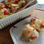 Ziemniaki posypane papryk...
