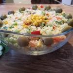 Salatka z kuskus tabule