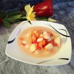 Zupa fasolowa z papryka