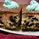 Ciasto Oreo Smerfetki