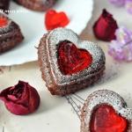 Muffinki z serduszkiem