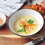 Kremowa zupa soczewicowa...