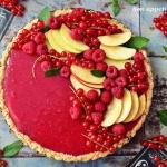 Biało-czerwona tarta z...