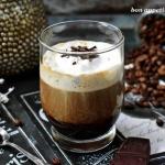 Kawa z czekoladą