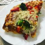 Pizza na puszystym ciesci...