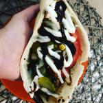 Domowy kebab w bulce