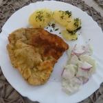 Tradycyjny obiad - schabo...