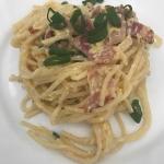 Spaghetti carbonara -...