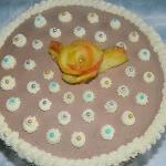 Tort orzechowo-czekoladow...