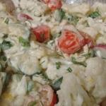 Salatka warzywna z kalafi...