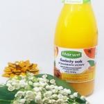 Świezy sok pomaranczowy ...