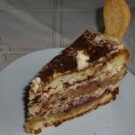 Wisniowy tort tiramisu